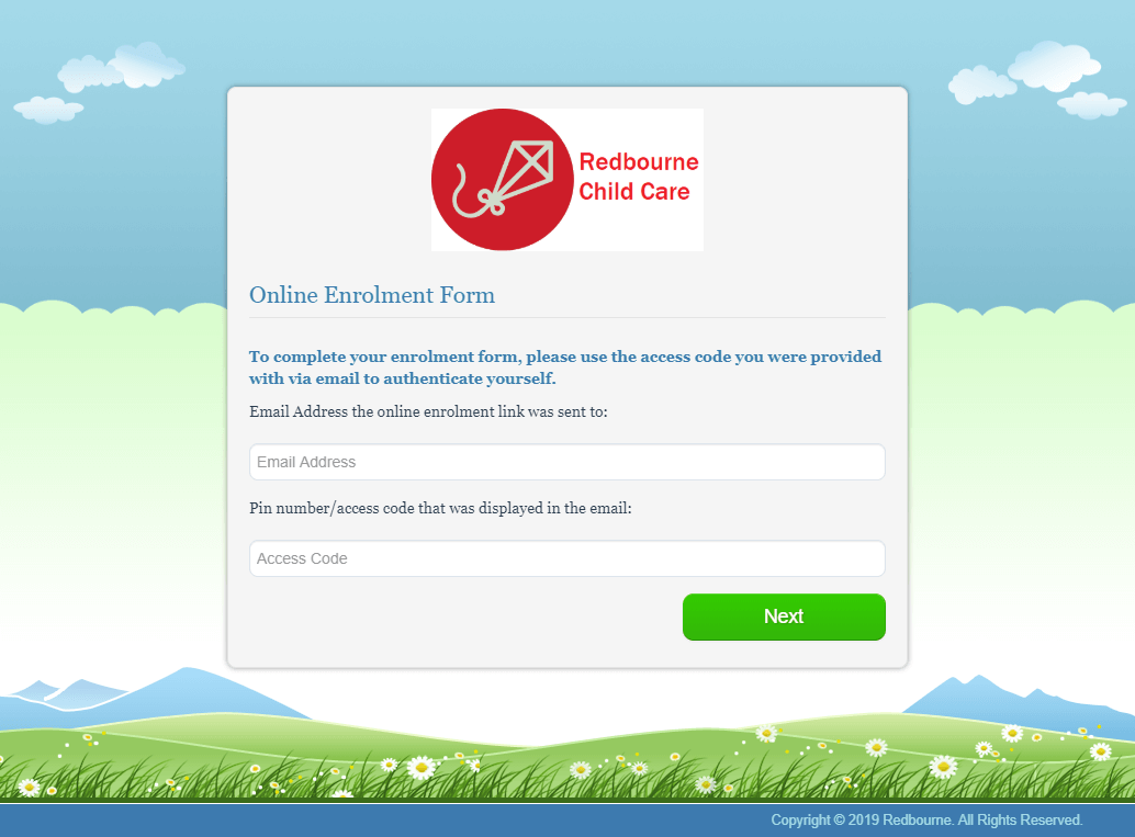 Your branded Online Enrolment Module with Harmony Web